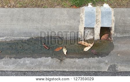 Storm water Drain from Suburban Home