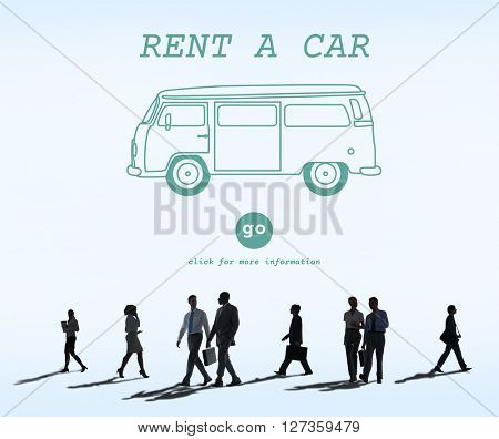 Rent Car Borrow Available Lease Renting Rental Concept