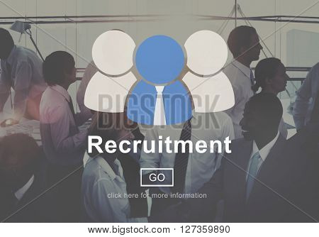 Recruitment Manpower Occupation Skills Staff Concept