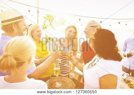Enjoyment Food Beverage Wine Occasion Party Concept
