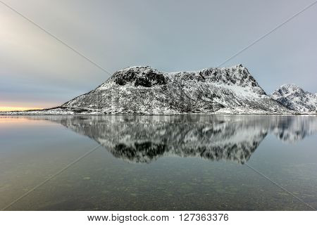 Vagspollen, Lofoten Islands, Norway