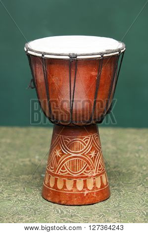 Tribal Drum Isolated on a white background