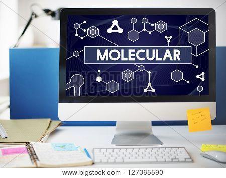 Molecular Atom Chromosome Denetic Lab Macro Concept