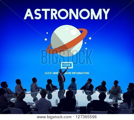 Astronomy Big Bang Planet Spaceship Concept