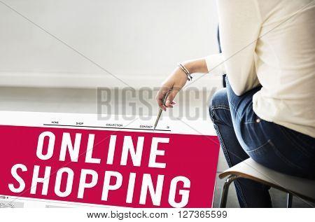 Online Shopping Internet Website E-Commerce Concept