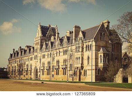 Christ Church College Oxford Oxfordshire UK England