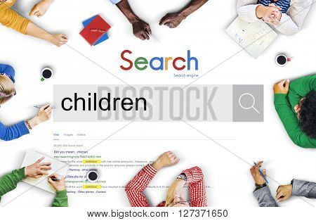 Children Childhood Elementary Age Young Concept