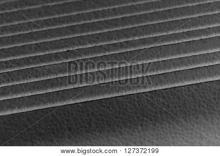 abstract stack of foam sheet for background used