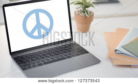 Peaceful Symbol Happiness Liberty Concept