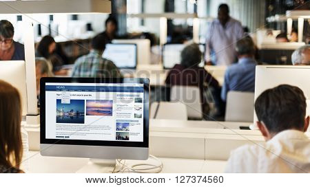 Knowledge Information Technology Education Concept
