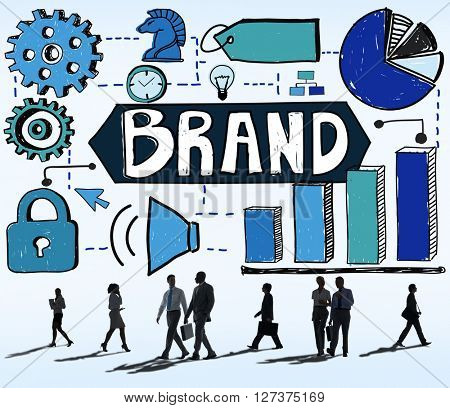 Brand Branding Marketing Strategy Business Concept
