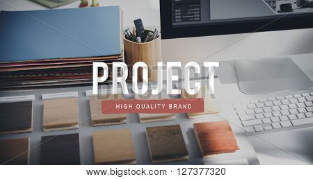 Work Project Work Management Concept