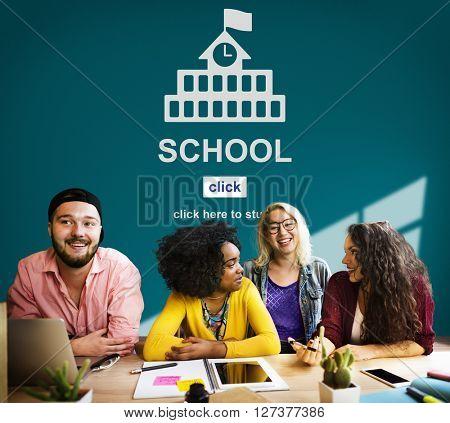 School Education Wisdom Knowledge Learn Concept