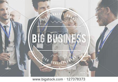 Big Business Corporation Commerce Enterprise Concept
