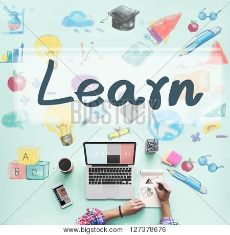 Learn Education Learning Progress Improvement Concept