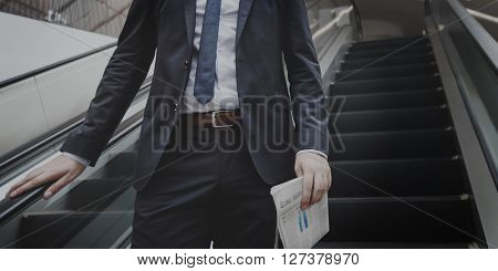 Suit Successful Corporation Confident Business Concept