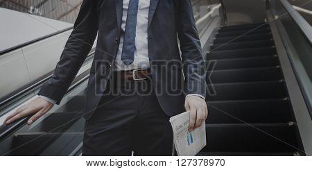 Suit Successful Corporation Confident Business Concept