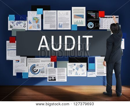 Audit Accounting Assessment Bookkeeping Concept