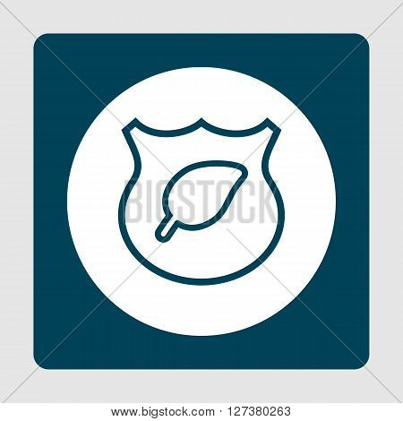 Ecology Shield Icon In Vector Format. Premium Quality Ecology Shield. Web Graphic Ecology Shield Sig