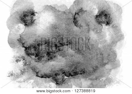 Dark grunge texture background. Black and white abstract background for design.