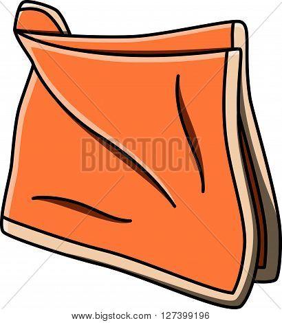 Handkerchief doodle illustration design .EPS10 editable vector illustration design