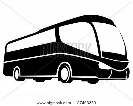 Bus Symbol .Eps 10 editable vector Illustration design