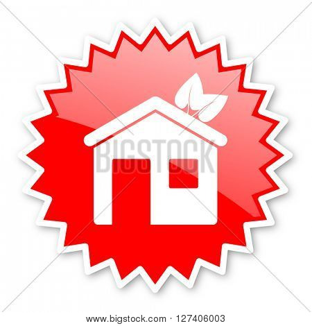 house red tag, sticker, label, star, stamp, banner, advertising, badge, emblem, web icon