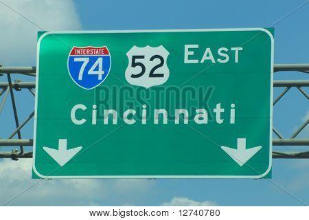 Cincinnati sign