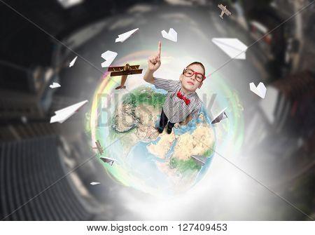 He has got an idea