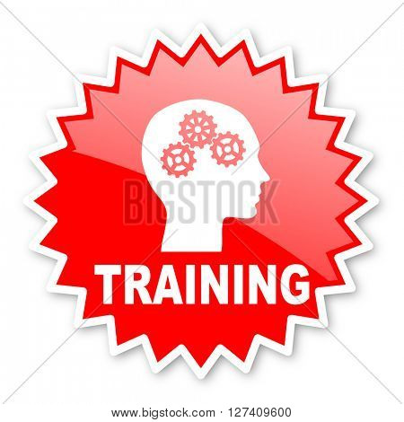 training red tag, sticker, label, star, stamp, banner, advertising, badge, emblem, web icon