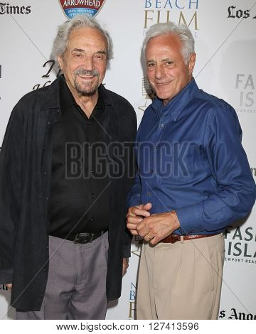 LOS ANGELES - APR 25:  Hal Linden, John Aprea at the Stevie D West Coast Premiere at the Newport Beach Film Festival at the Island Cinema on April 25, 2016 in Newport Beach, CA