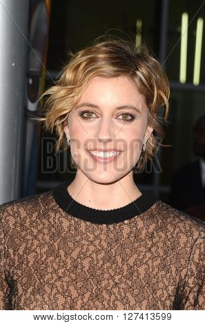 LOS ANGELES - APR 25:  Greta Gerwig at the Maggie's Plan Los Angeles Special Presentation at the ArcLight Hollywood Theaters on April 25, 2016 in Los Angeles, CA
