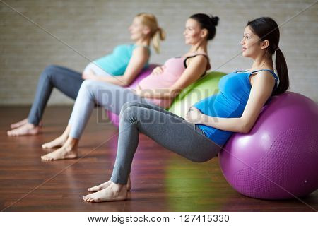 Exercising on balls