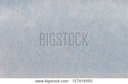 Skin clear oil absorbing paper texture tinged with light blue