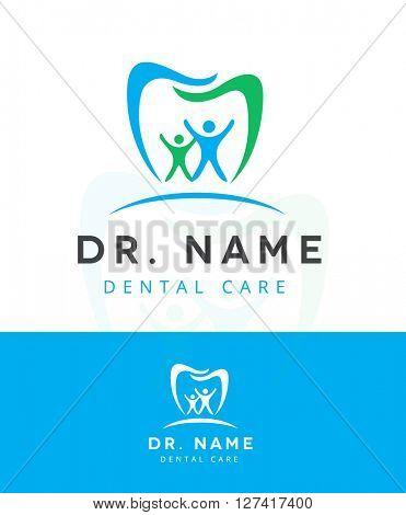 dental icon / logo, premium design