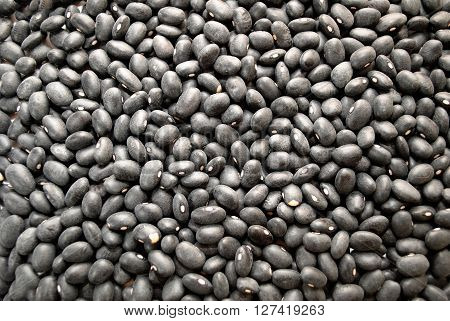 Background of Healthy Dried Black Dried Beans