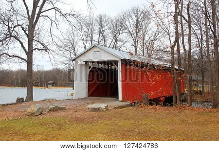 Vigo, Irishman covered bridge in Indiana