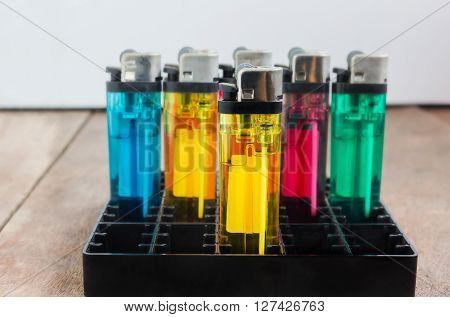 Group Of Cigarette Lighter