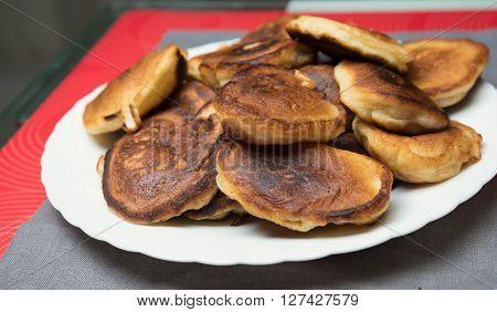 Delicious Homemade Pancakes Baking