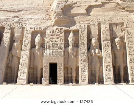 Abu Simbel Temple - Nefertari