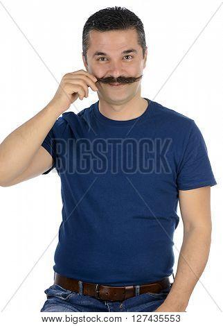 Mustache Twirling