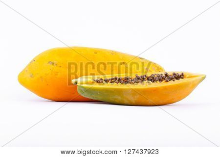 Ripe papaya is healthy fruit and  high nutritional value