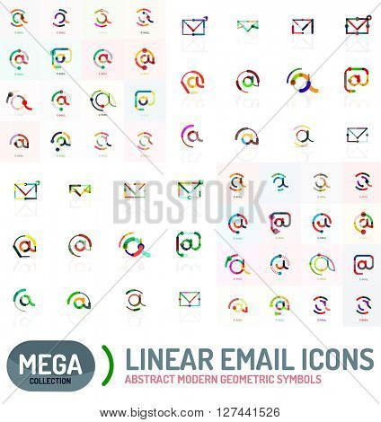 Mega collection of email logos