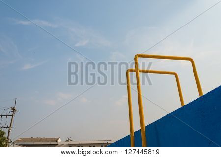 Stairs Of Water Tank