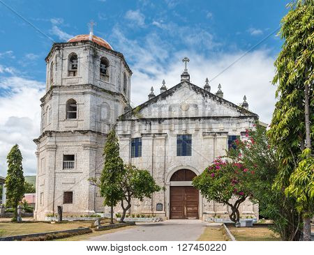 Our Lady of the Immaculate Conception catholic Church at Oslob in Sebu, Philippines