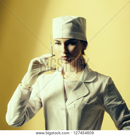 Doctor With Syringe