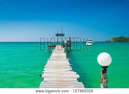 Jetty to Eternity Path filled with Love