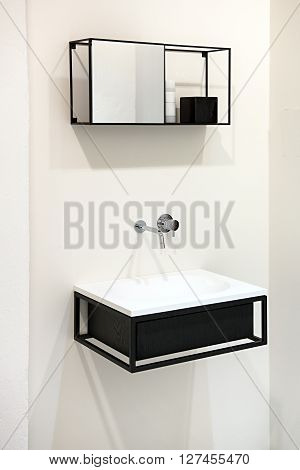 Modern Wall-mounted Sink Or Hand Basin