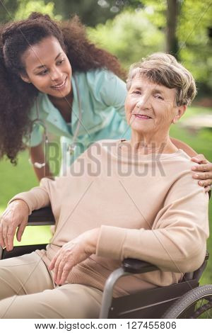 Helping Older Woman