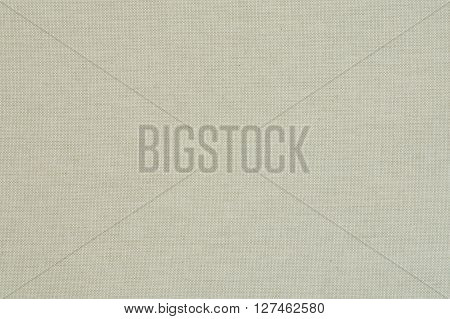 Natural Linen Texture For The Background - Close Up Of Material Surface